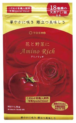 東商 東商 花と野菜にアミノリッチ 1.3kg