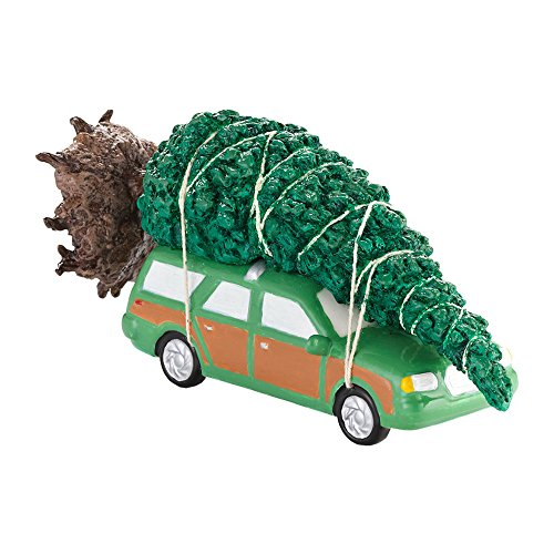 Department 56 National Lampoon Christmas Vacation The Griswold Family Tree Accessory Figurine, Brown, Green