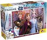 Liscianigiochi- Puzzle Maxi Floor 50x70 cm Doble Cara con Reverso para Colorear 24 Piezas Disney 101 Dálmatas Puzle para niños, Multicolor (86641)