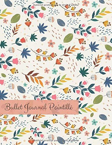 Bullet Journal Pointillé: Carnet de note - 150 pages - 21,59 cm x 27,94 cm