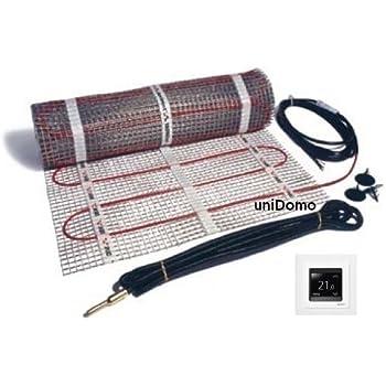 0,5m2 DEVI Devimat D/ünnbettset D/ünnbett Set mit Devireg 530 Fu/ßbodenheizung DSVF150