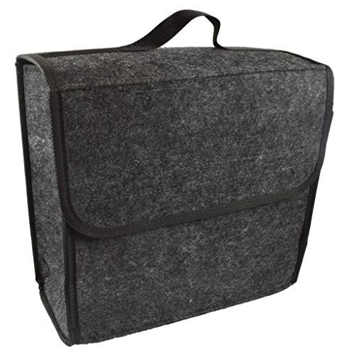 AllBright 車用 バッグ ボックス トランク ケース 車載 車内 道具 工具 小物 整理 携帯 洗車 フェルト製