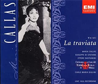 Verdi: La Traviata complete opera live 1955 with Maria Callas, Giuseppe di Stefano, Carlo Maria Giulini, Orchestra & Chorus of La Scala, Milan