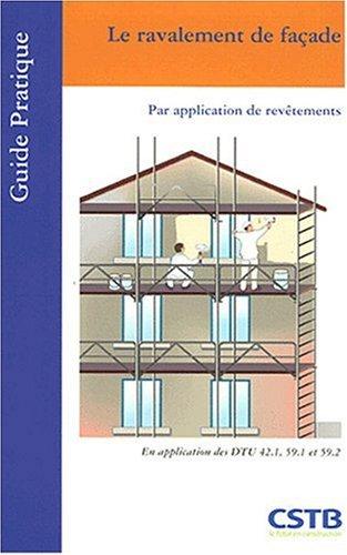 Le ravalement de façade : Par application de revêtements