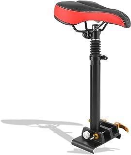 Eulbevoli Selle de siège de Scooter électrique, Selle de siège de Planche à roulettes réglable Durable, Chaise de siège Ab...