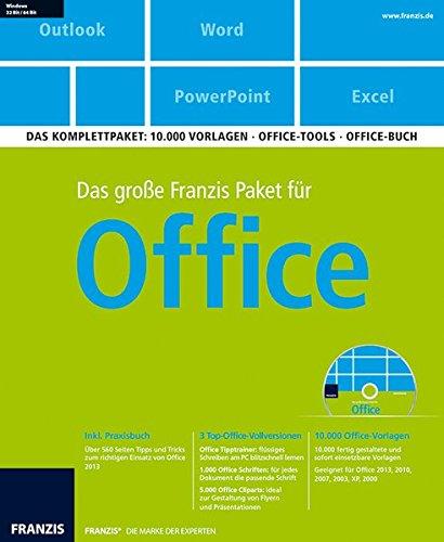 Franzis Verlag Das große Paket für Office [import allemand]