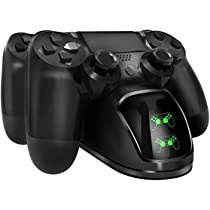 Tobo PS4 Controller Dual Charging Dock PS4 Pro Video Game Accessories (DOBE-TP4-889)