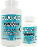 600 Guai-Aid 600mg'Ultra-Pure' Guaifenesin Veg. Capsules (includ 100 Size Bottle) Exp Date 11/23