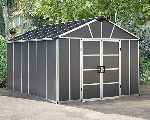 Palram Yukon Shed With floor/Without floor (11x13.1 without floor)