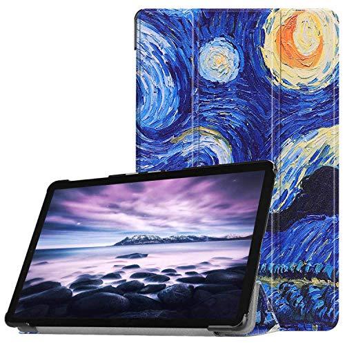 Lobwerk móvil para Samsung Galaxy Tab a SM de t590SM de T595SM de t59710.5Pulgadas Funda Smart Cover con Auto Sleep/Wake + Touchpen Azul C07