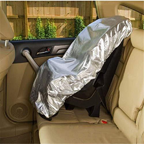 QMJHL Parasole per seggiolino Auto, Passeggino con Coperchio Parasole Anti-Polvere