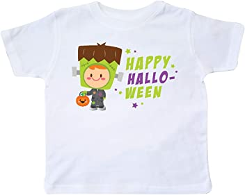 inktastic Trick or Treat Girl with Pumpkin and Red Hair Baby T-Shirt