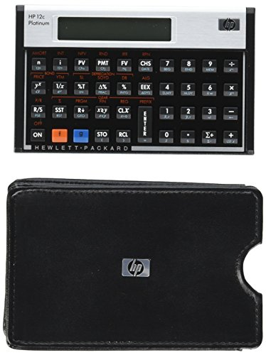 HP(ヒューレット・パッカード)『HP 12c Platinum Financial Calculator(#F2231AA)』