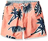 Hugo Boss BOSS Men's Swim Trunks, Peach Palm Tree, S