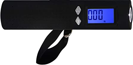 Meemoo 3 in 1 Digital Travel Portable Handheld Weighing Luggage Scales, Flash Light, Charge Bank, Luggage Scale, Travel Luggage Scale, Digital Luggage Scale, Handheld Scale, Portable Scale