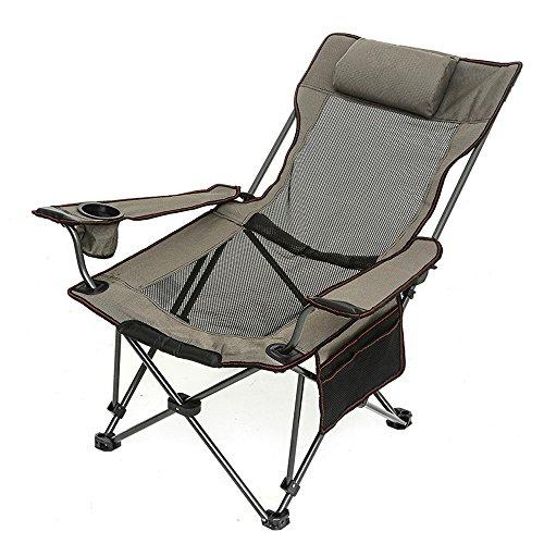 LBYMYB Tuinstoel, visstoel, dubbele stoel, opvouwbaar, verstelbaar, strandstoel, draagbaar