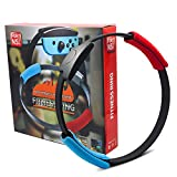 NS-Switch Game Fitness Ring Adventure NS Ring Fit Somatosensory Sports Game Yoga Fitness Ring + Leg Straps, Suitable for Great Adventure Sports Somatosensory Games/Somatosensory Yoga Sports Games