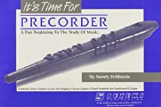 Image of Its Time for Precorder. Brand catalog list of Alfred Publishing Company.
