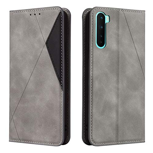 Leather Wallet Case for Xiaomi Redmi 8 PU Leather Magnetic Flip Cover with Card Slots Holders Bookstyle Wallet Case for Xiaomi Redmi8 - JEYTB030431 Gray
