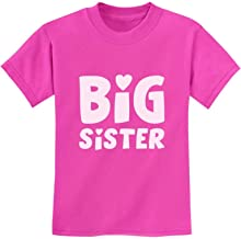 Big Sister - Sibling Gift Idea Elder Sister Cute Kids T-Shirt with Stickers