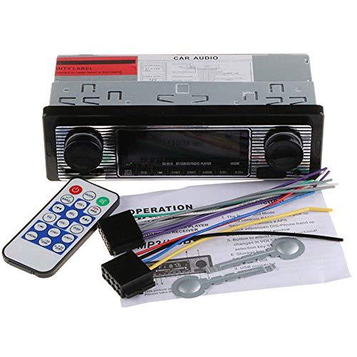 Voiture Lecteur MP3 Bluetooth HD Moteur 4 Canal Digital Audio Bluetooth USB/SD/FM/WMA/MP3/WAV Radio Lecteur stéréo