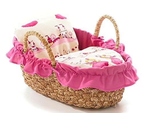 Bayer Chic 2000 233 04 Puppentragetasche 45 cm, Little Princessin Design