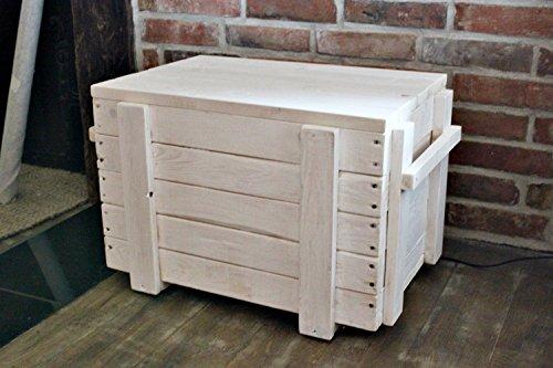 Cassapanca Portabiancheria Tavolino scatola di legno scatola divano soggiorno Cesta Portaoggetti in legno