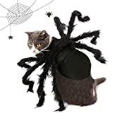 OLT-EU Pet Halloween Bat Costume, Dogs Cats Hoilday Costume Decoration, Spider Wings Pets Costume for Halloween Cosplay Parties Accessories Props (S)