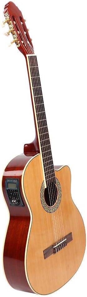 Guitarra cutaway, guitarra cutaway 3960C anticorrosión resistente al desgaste, amigos para principiantes familiares profesionales
