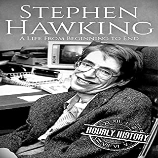 Stephen Hawking audiobook cover art