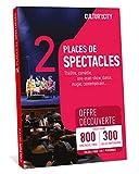 Cultur'In the City - Caja de regalo de 2 plazas, 800 caracteres descubierto - 300 salas asociadas en cualquier lugar de Francia teatro, Asegurado One Man Show, Danza, Magia (2)
