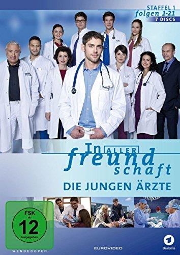 In aller Freundschaft - Die jungen Ärzte, Staffel 1, Folgen 01-21 [Alemania] [DVD]