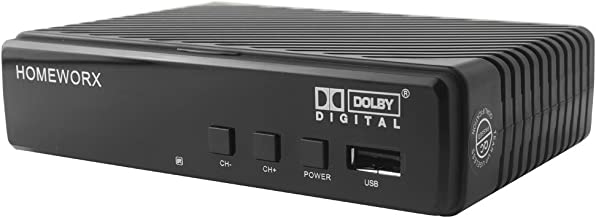 Mediasonic ATSC Digital Converter Box with Recording / Media Player / TV Tuner Function (HW130STB)