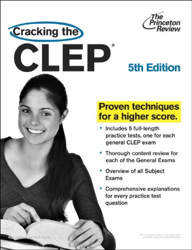 Download Cracking the CLEP, 5th Edition (College Test Preparation) 0375764933