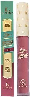 Batom Líquido Matte Nude Nº 50 - Latika