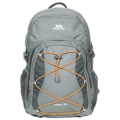 Trespass Albus Backpack (One Size) (Green/Orange)