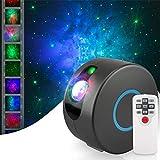 Galaxy Projector, Star Projector, Galaxy Light, Planetarium Projector, Starry Night Light Projector, Galaxy Projector for Bedroom, Night Sky Projector with Brightness Adjustment & 15 Light Modes