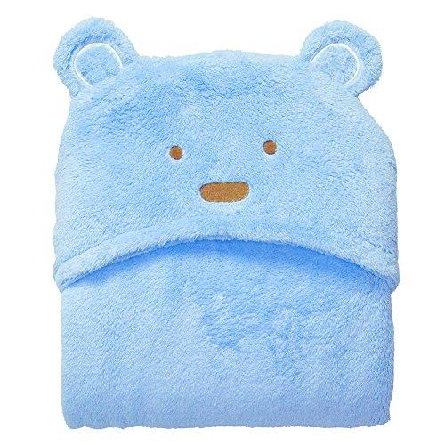 szlsl88 Baby handdoeken met capuchon, baby badhanddoek, mooie zachte koraal fleece cartoon baby badhanddoek voor jongens en meisjes (beer, olifant, tijger, hert)