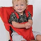 arthomer Baby-Sicherheitsgurt, Baby Dining Chair Belt, tragbarer Easy Seat mit verstellbaren Trägern, Reise-Hochstuhl für Baby Kleinkind