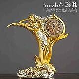 MZW A PCS vinoteca decoración de Estante de Vino Muebles artesanales para el hogar Reloj Creativo (Vino), A