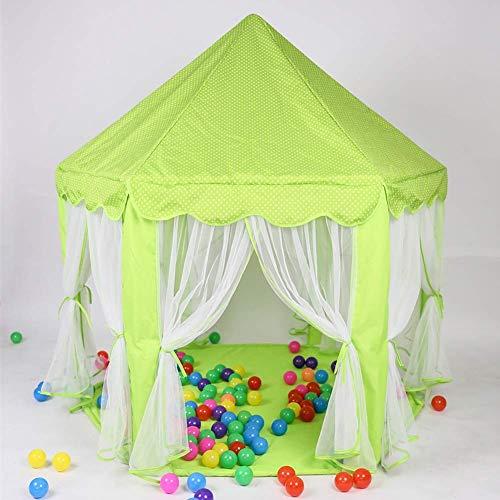 Universal Klamboe Gordijn Tent Reading Play Tent for Baby Kinderen Meisjes Boy Room Decor, gemakkelijk te installeren, Pink QIANGQIANG (Color : Green)