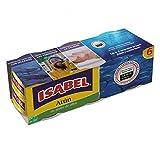ISABEL atún en aceite de oliva pack 6 latas 312 gr