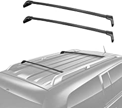 MOSTPLUS Roof Rack Cross Bar Rail for Acura MDX 2014 2015 2016 2017 2018 Cargo Racks Rooftop Luggage Canoe Kayak Carrier Rack
