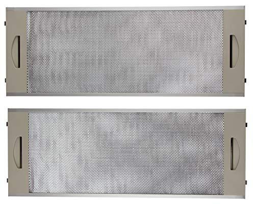 Remle - Filtro metalico campana extractora Teka 19x50cm CNL2000 - Kit 2 unidades