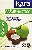 KARA Crème de Coco Tétra Pack 400 ml - Lot de 6