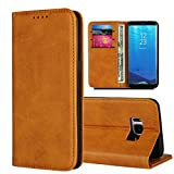 Samsung Galaxy S8 Plus Case,Samsung S8 Plus Wallet Case,Jaorty Genuine Cowhide Pattern Leather
