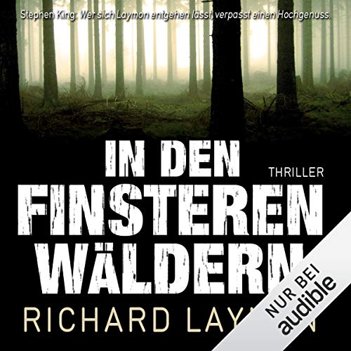 In den finsteren Wäldern audiobook cover art