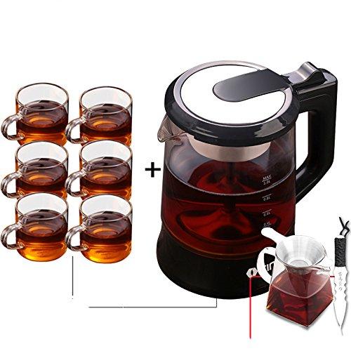 WSQ Teekessel Glas Wasserkocher Teekanne Teekessel Glas Automatische Dampfisolierung Tee,A,mm