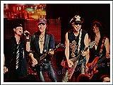 PHhomedecor Leinwanddrucke Poster,Scorpions Vintage Retro