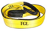 TGL 3 inch, 8 Foot Tree Saver, Winch Strap, Tow Strap 30,000 Pound Capacity...